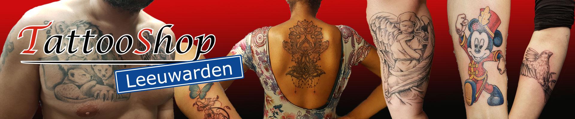 Tattooshop Leeuwarden Slider
